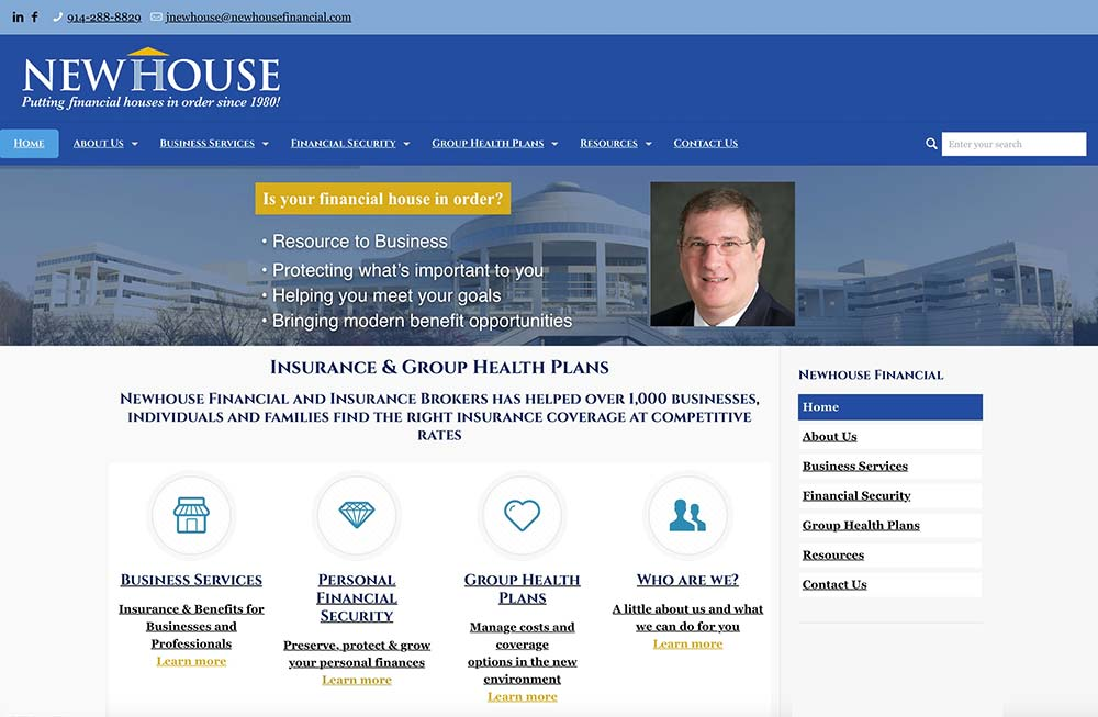 Newhouse financial construct agency for Www newhouse com